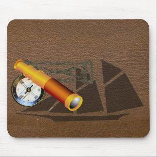 Vintage Ship Mouse Pad