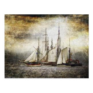 Vintage Ship Postcard