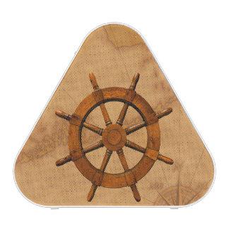 Vintage Ship Wheel Bluetooth Speaker