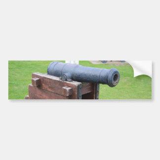 Vintage Ship's Cannon Bumper Sticker