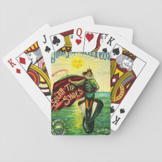 Vintage Shoe Ad 1889 Playing Cards
