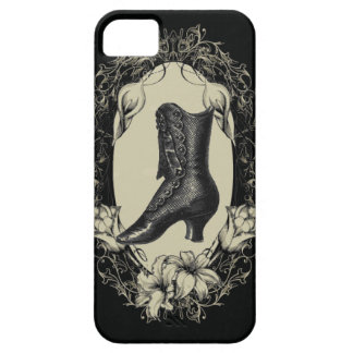 Vintage Shoe floral frame Chandelier iphone5 case iPhone 5 Covers