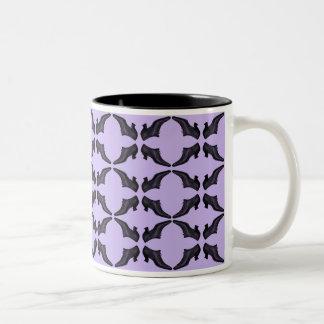 Vintage Shoes Lavender Cup Mugs