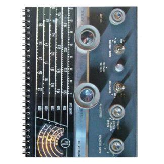 Vintage Short Wave Radio Notebook