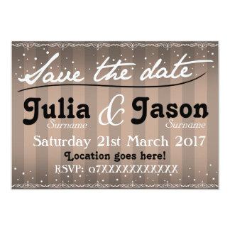 Vintage Silhouettes Wedding Invitation