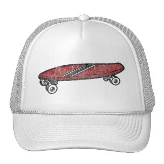 Vintage Skateboard Trucker Hat