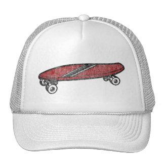 Vintage Skateboard Mesh Hats