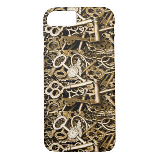 Vintage Skeleton Keys iPhone 7 Case