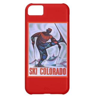 Vintage ski poster, Ski Colorado iPhone 5C Case