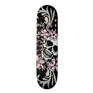 Vintage Skull 19.7 Cm Skateboard Deck