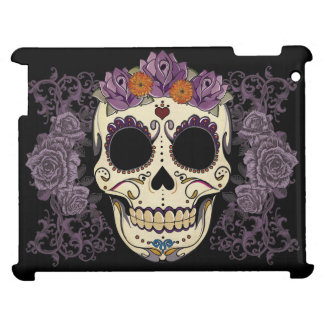 Vintage Skull and Roses iPad Hard Shell Case Cover For The iPad 2 3 4