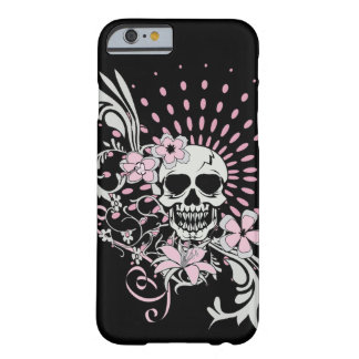 Vintage Skull Barely There iPhone 6 Case