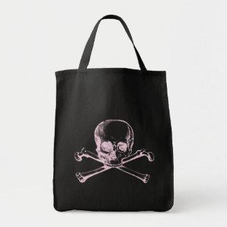 Vintage Skull & Crossbones Canvas Bags