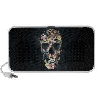 Vintage Skull Laptop Speaker
