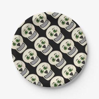 Vintage Skull Paper Plates