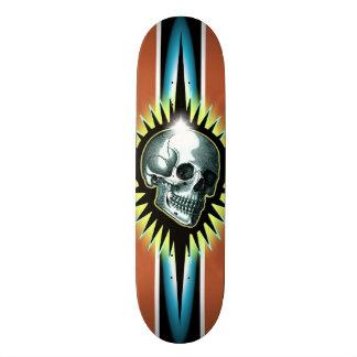 Vintage Skull Starburst Skateboards