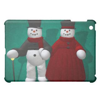 Vintage Snowmen: Lord & Lady Cool iPad Mini Case