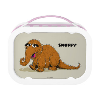 Vintage Snuffleupagus Lunch Box