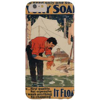 Vintage soap advertisement  case