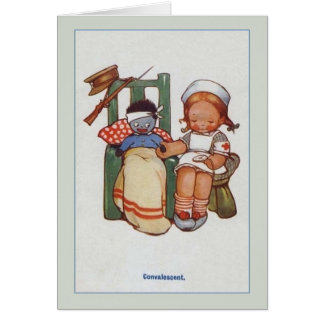 Vintage Soldier Get Well Card