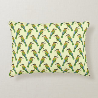 Vintage Somali Bee-Eater African Pattern Decorative Cushion