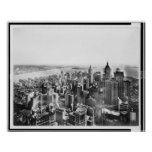 Vintage Southern Manhattan New York NY 1913 Posters