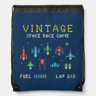 Vintage Space Video Game Backpacks