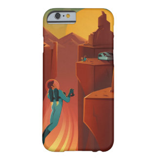 Vintage SpaceX Valles Marineris Mars Travel Barely There iPhone 6 Case