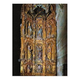 Vintage Spain, Burgos, Cathedral, St Anna Altar Postcard