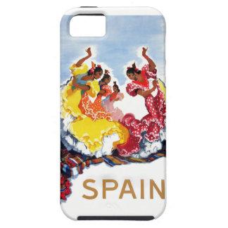 Vintage Spain Flamenco Dancers Travel Poster iPhone 5 Case