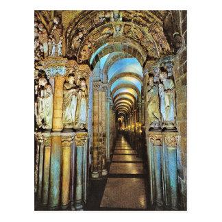 Vintage Spain, Santiago de compostella Postcard