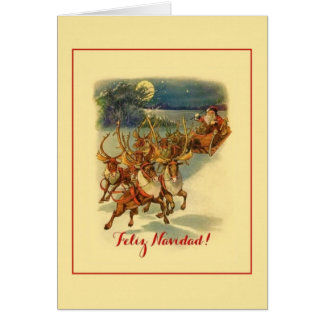 Vintage Spanish / Hispanic Christmas Card