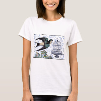 Vintage Sparrow & Cage T-Shirt