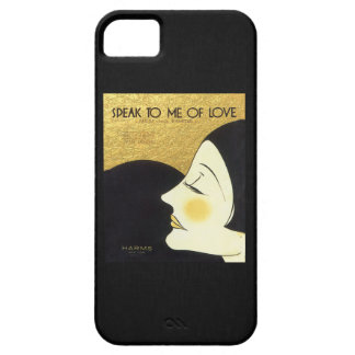 Vintage Speak to Me of Love 1930 Sheet Music Cover iPhone 5 Case