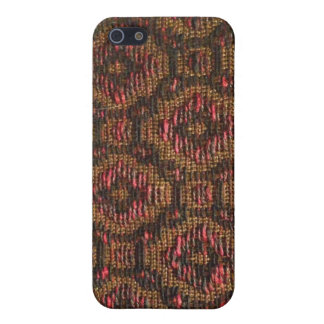 Vintage Speaker Grill Covering Pattern iPhone 5 Covers
