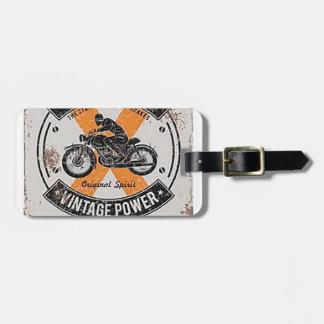Vintage Speedmaster Emblem Luggage Tag