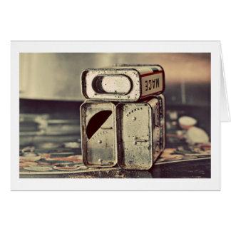 Vintage Spice Tins Card