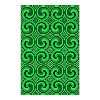 vintage spiral pattern Stationery