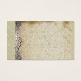 Vintage Spiritual Mystic Linen Business Cards