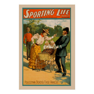 Vintage Sporting Life Poster