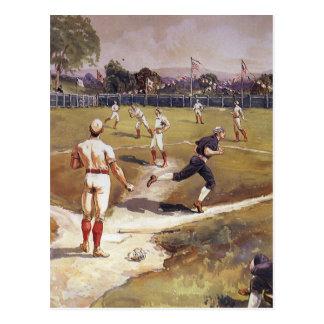 Vintage Sports Baseball by Louis Prang Post Cards