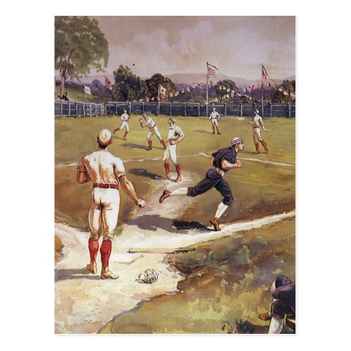 Vintage Sports, Baseball by Louis Prang Post Cards