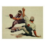 Vintage Sports, Baseball Players Posters