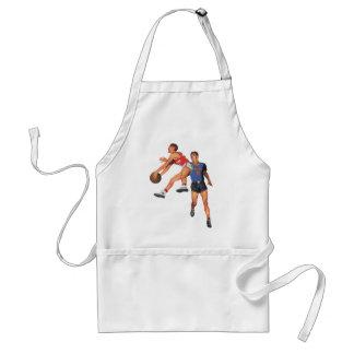 Vintage Sports, Basketball Players Aprons