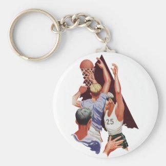 Vintage Sports, Basketball Players Key Chains