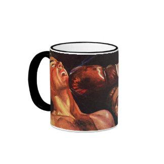 Vintage Sports, Boxers Boxing Match Ringer Mug