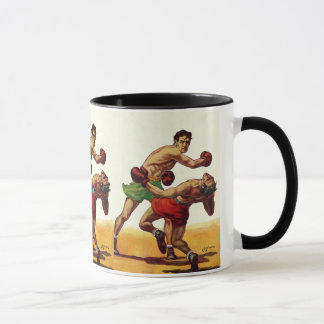 Vintage Sports, Boxers in a Boxing Fight