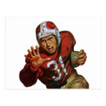Vintage Sports, Football Player, Running Back 31 Postcard