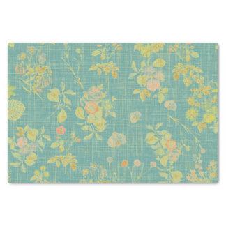 Vintage Spring Floral Tissue Paper