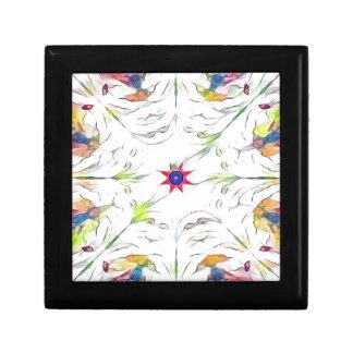 vintage spring handkerchief pattern gift box
